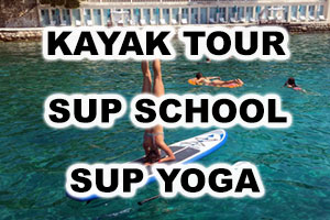 Booking - Kayak Tour, SUP School, SUP Yoga