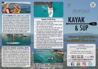 Kayak & SUP Hvar flyer